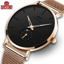 Mens Watches Luxury Brand Business Relogio Masculino 3ATM Waterproof  Wrist Watch Alloy Band Clock Drop-Shipping