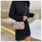 Small Bag Female 2019 New Wild Chain Shoulder Bag Fashion Rivet Slanting Small Square Bag