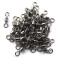 100Pieces/bag Rolling Swivels Impressed Rolling Swivel Fishing Tackle