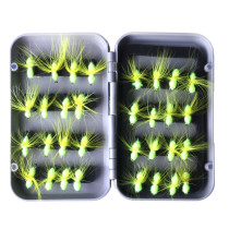 Wholesale 32 Pieces /set Nymph Fly Trout Fly Fishing Baits Fly Fishing Lure Set