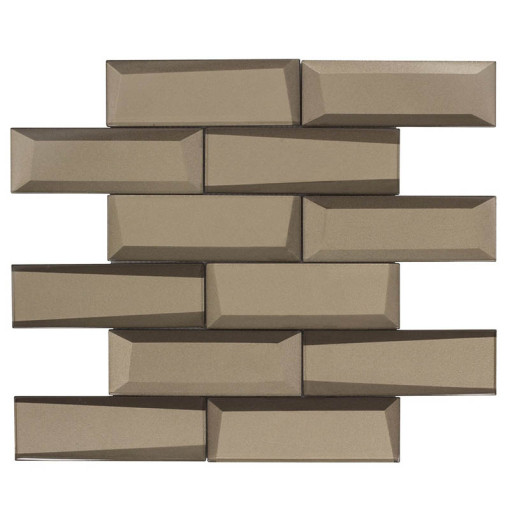 Glass Wall Tile Dimension Bronze OB21