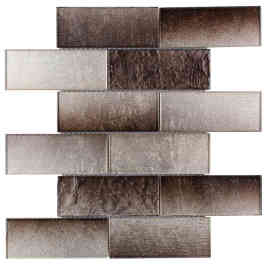 Glass Subway Tile Pure Cocoa OB18
