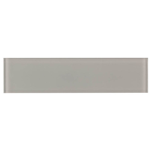 Glass Subway Tile French Gray 100x300mm OB38