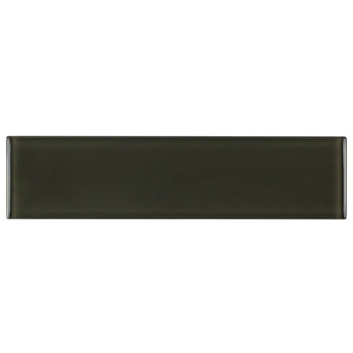 Glass Subway Tile Graphite 100x300mm OB39