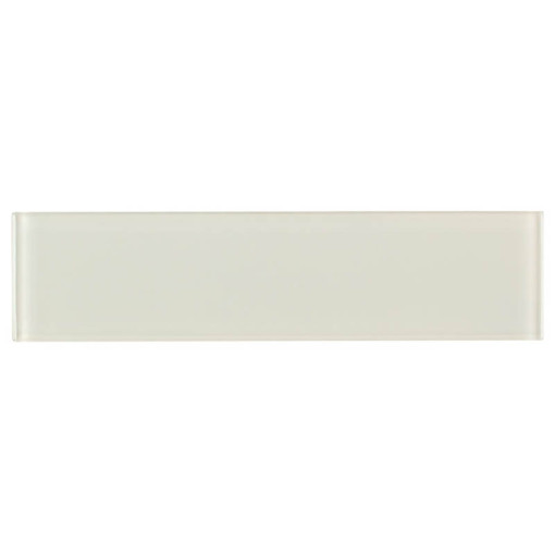 Glass Subway Tile Creamy 100x300mm OB36
