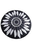 Super Soft Feather Pattern Poolside Lounging Towel