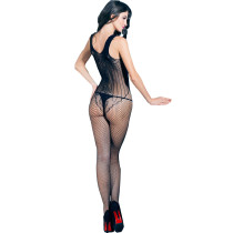 Transparent Seyx Hot Net Bodystocking Lace-up Front Women Sexy Full Body Stocking