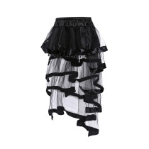 Elegance Organza Layered Tulle Skirt Halloween Costume Accessories