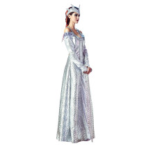 Shimmery Athena Goddess Queen Cool Halloween Costumes