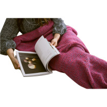 Stretchy High Quality Purple Mermaid Shape Blanket