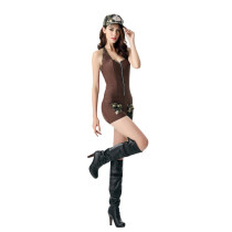 Charming Soldier Romper Halloween Costumes Military