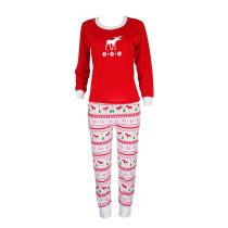 Relaxed Feminine Nightwear Matching Family Pajama Sets