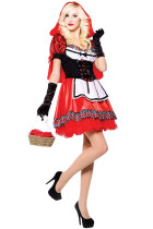 Bewitching Red Riding Cosplay Hood Costume Dresses