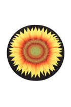 Laying Out Park Picnics Sunflower Pattern Beach Throw