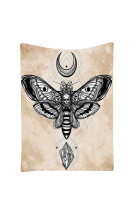 Stunning Skull Moth Large Tapestry Wall Hangings Bedspread