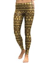 Hunting Festival Pattern Tights Ankle Length Ladies Fashion