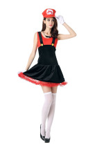 Delight Petticoat Darling Mario Skirt Costume