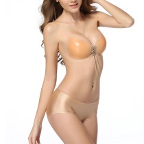 Invisible Butterfly-Shaped Nude Silicone Strapless Bra