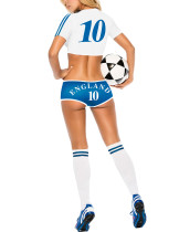 Sheer 10 Print Tees Soccer Baby Costume 3 Piece Set Online Affordable