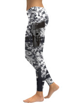 Pretty Hunting Festival Series Camo Printing Leggings Elasticity