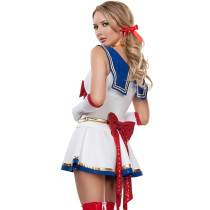 Sweet Plunging Sequin Tunic Dress Sailor Moon Costumes
