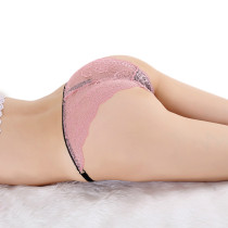 Instant Attraction Seamless Pink Knickers Elasticity Ice Silk
