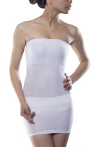 Flawless White Seamless Shapewear Underwear Dress