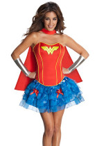 Glam Halloween Wonder Woman Film Character Costumes