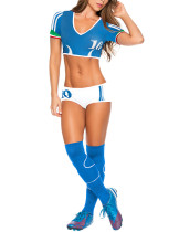 Affordable 3 Pieces Crop Top Football Baby Costume Fashion Style
