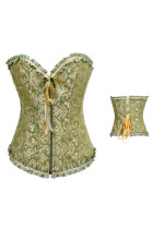 Pleated Frill Fashion Corset