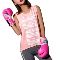 Moisture Wicking Printed Pink Mesh Sporty Vest Sleeveless