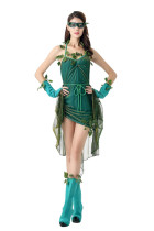 Flirtatious Beauty Cosplay Fancy Dress Dark Fairy Costume