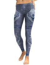 Dreaming High Waist Hunting Festival Pattern Leggings Hot