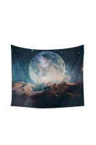 Gypsy Wolf Moon Print Wall Hangings Tapestry Polyester