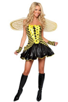 Frisky Daisy Bumblebee Striped Jungle Animal Costumes