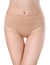 Nude Cute Bamboo Antibacterial Triangle Briefs Breath
