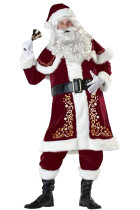 Festive Christmas Themed Costumes Plus Size St. Nick