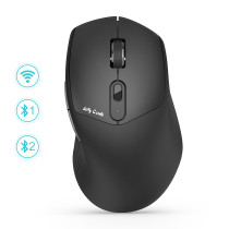 Dual Mode Multi-Device Ergonomic Mouse M018