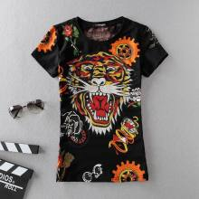 Ed Hardy short round collar T woman S-XL Jun 5-2999861