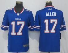 New Nike Buffalo Bills 17 Allen Blue 2017 Vapor Untouchable Limited Playe