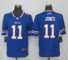 QNew Nike Buffalo Bills 11 Jones Blue 2017 Vapor Untouchable Limited Playe