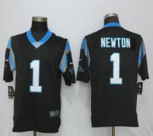 Nike Carolina Panthers 1 Newton Black 2017 Vapor Untouchable Limited Playe