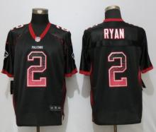 New Nike Atlanta Falcons 2 Ryan Drift Fashion Black Elite Jerseys