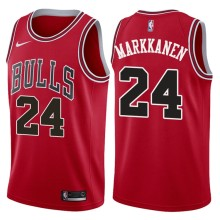 NBA Chicago Bulls-24 Markkanen -02