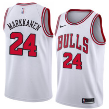 NBA Chicago Bulls-24 Markkanen -01