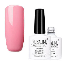 Rose Pink Color Nail Gel