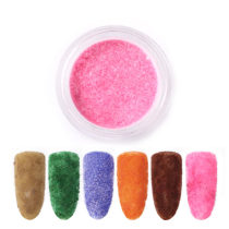Velvet Powder Nail Glitter For Nail DIY Manicure Painting