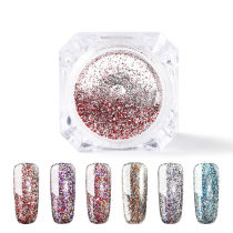 Platinum Nail Glitter Magic Platinum