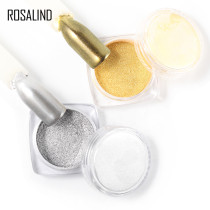 Nail Gel Polish Chrome Pigment Decoration Nail Glitter Aluminum Flakes Magic Mirror Effect Powders Sequins