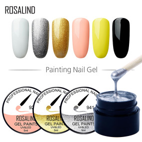 (6PCS/LOT) Spider Gel Set Stamp Gel Set Gel Paints Nail Art Lot